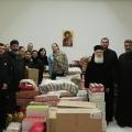 """Хуманитарната помош од Хуманитарната организација """"Свети Спас"""" пристигна во Драч"""