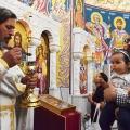 Божествена Литургија во храмот на св.пророк Илија, Скопје (13.07.2019)