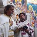 Божествена Литургија во храмот на св.пророк Илија, Скопје (28.05.2020)