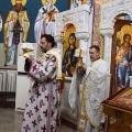 Божествена Литургија во храмот на св.пророк Илија, н.Аеродром Скопје (23.10.2020)