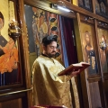 Божествена Литургија во храмот на св.Јован Крстител, н. Капиштец, Скопје (13.06.2021)
