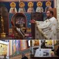 Божествена Литургија во храмот Рождество на Пресвета Богородица, Скопје (08.10.2021)